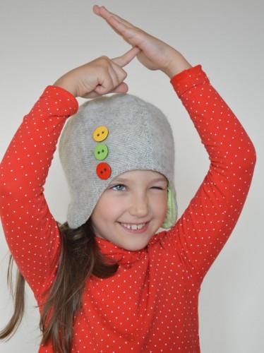 """Vaikiška kepurė """"Trispalvė"""""""