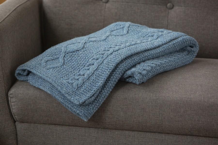 Wool Knit Blanket