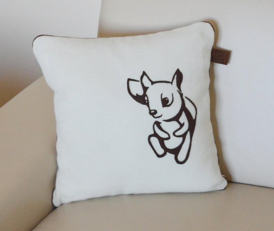 """Vilnos pagalvėlė """"Voverė"""" 40x40 cm"""