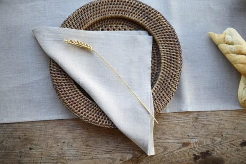 Lininės servetėlės NATURE (4 vnt.)