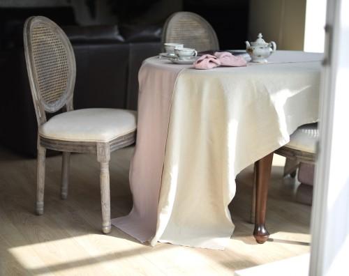 Lininė staltiesė IVORY 140x180 cm