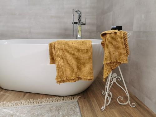 Vonios rankšluostis MUSTARD